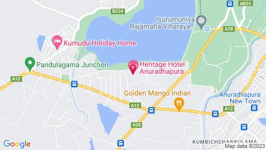Heritage Hotel Map