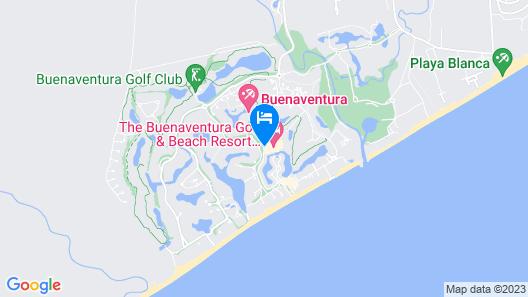 The Buenaventura Golf & Beach Resort Panama, Autograph Collection Map