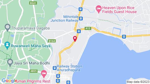 Avasta Resort and Spa Map