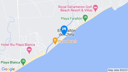Acuarela Hostal Map