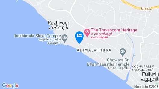 Somatheeram Ayurveda Village Map
