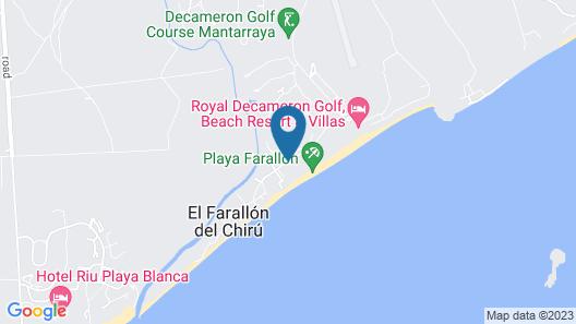 Riu Playa Blanca - All Inclusive Map