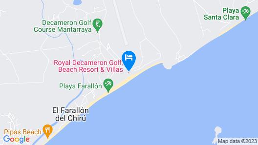 Royal Decameron Panama Plus- All Inclusive Map