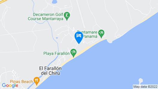 Royal Decameron Panama All Inclusive Map