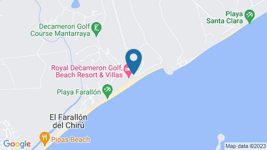 La Perla de Farallon Bed and Breakfast Map