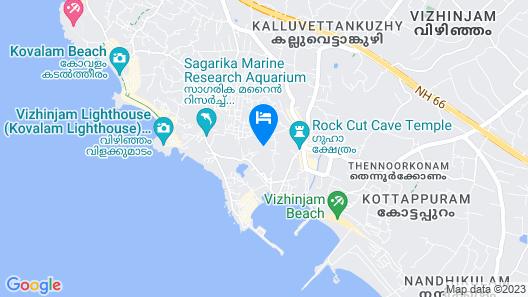 Soma Palmshore Beach Resort Map