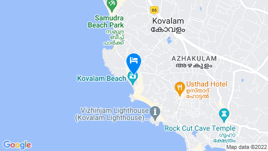 Kovalam Turtle Annexe Map