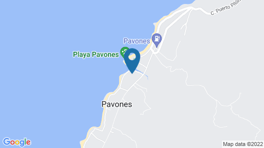Pavones Point Map