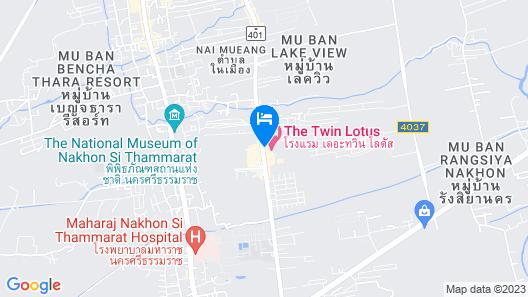 Twin Lotus Hotel Map