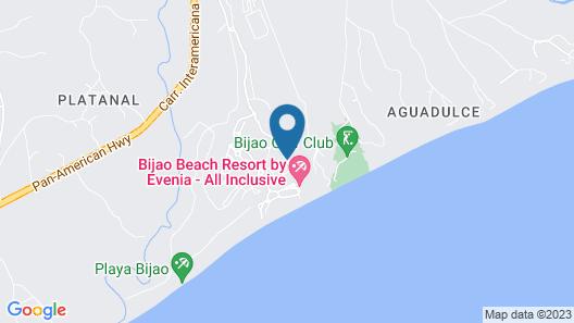 Sheraton Bijao Beach Resort - All Inclusive Map