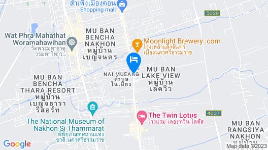 Bunprasop Garden Hotel Map