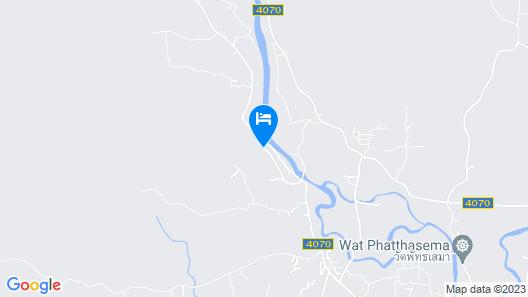 The Kiriwong Valley Vaillas & Restaurant Map