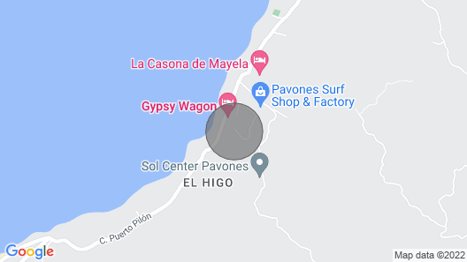 Pavones Modern Bungalow, Close to Surf! Map
