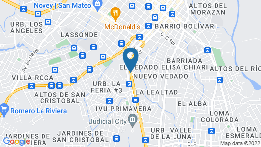 Aranjuez Hotel & Suites Map
