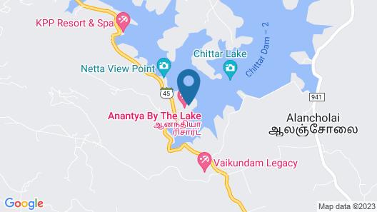 Anantya Resorts 90 minutes from Kanyakumari Map