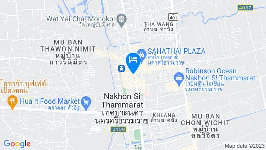 Thai Hotel Map