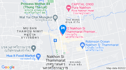 B2 Nakhon Si Thammarat Premier Map