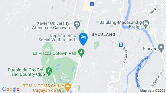 Uptown Condotel Map