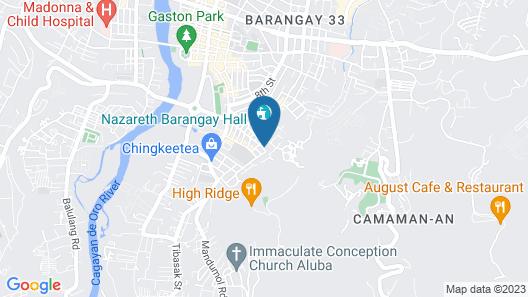Casa Marga Map