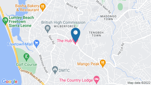 The Hub Hotel Map