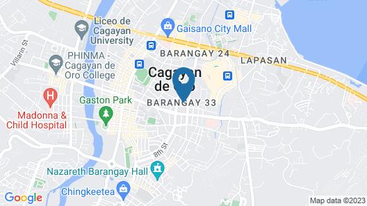 Hotel Conchita Map