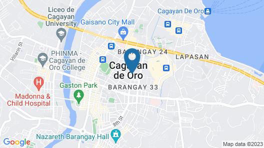 G-Galyx InnHotel Map
