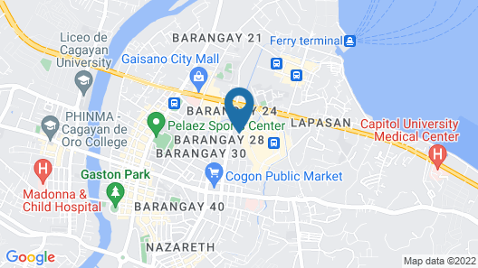 Mallberry Suites Business Hotel Map