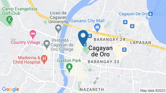 New Dawn Hotel Plus Map