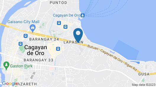 Hotel Sogo - Cagayan de Oro Map