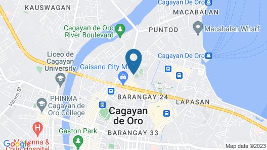 GV Hotel Cagayan de Oro Map