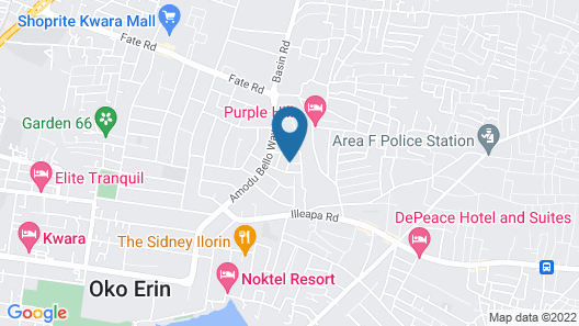 Ithika Guest House Map
