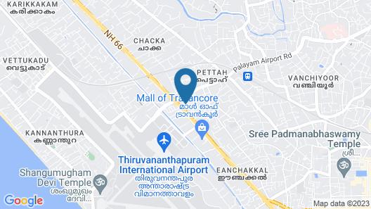 Indeevaram Residency Map