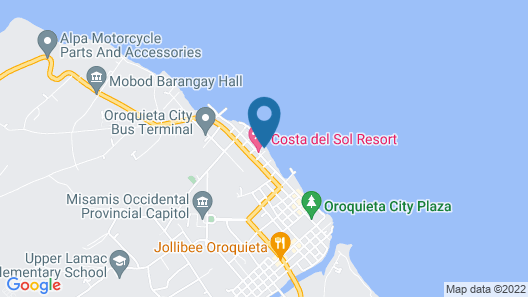 Costa Del Sol Resort Hotel Map