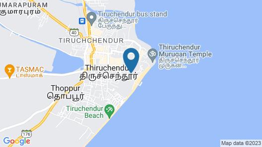 Saravanas lodge Map