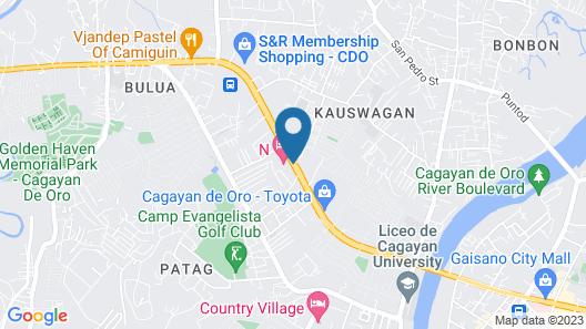 N Hotel Map