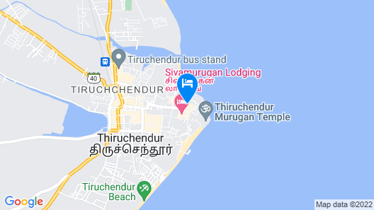 Hotel Chitra Park Map