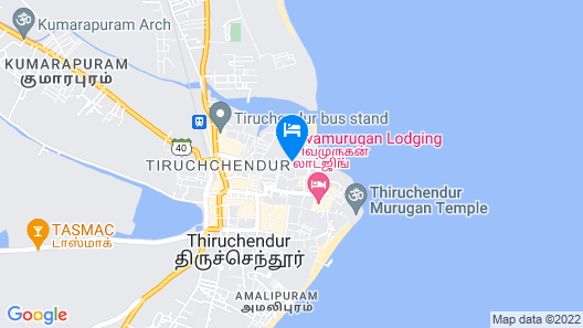 OYO 5618 Hotel Udhayam International Map