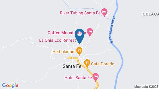 La Qhia Eco Retreat Map