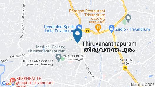 OYO 2079 near Medical College Map