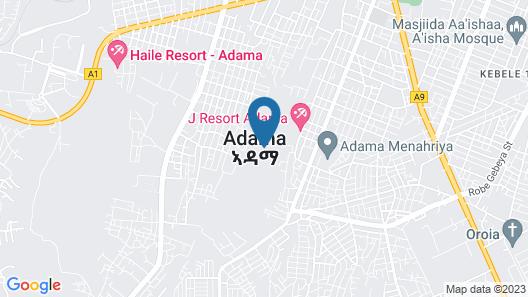 Haile Resort Adama Map