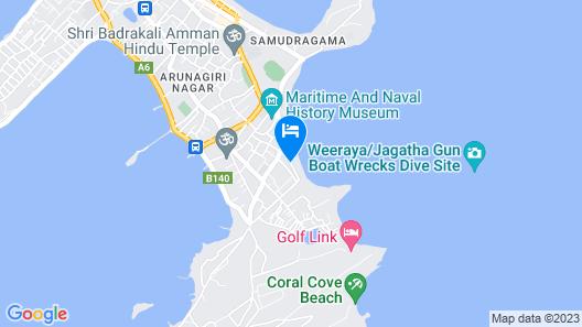 Blue Ocean Hotel Map