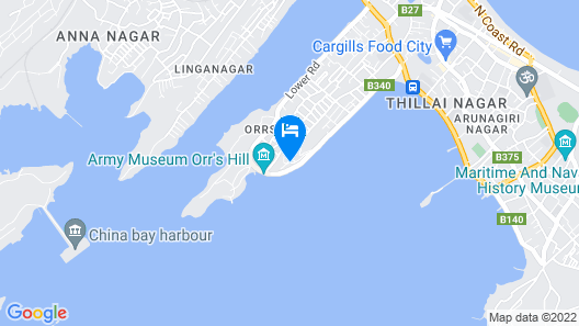 Welcombe Hotel Map