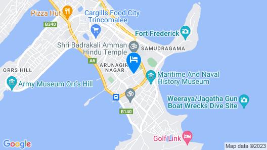 Sunshine Hotel & Hall Map