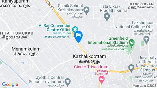 Hotel Karthika Park Map