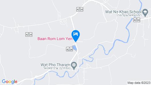 Baan Rom Lom Yen Map