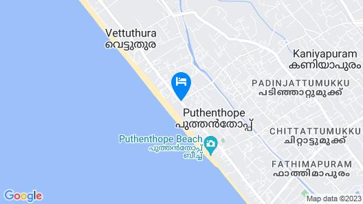 Palmleaves Beach Resort Map