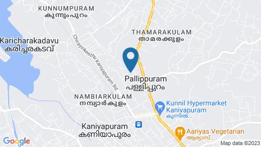Stunning 2-bed Apartment in Thiruvananthapuram Map
