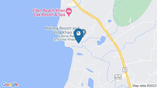 Kalima Resort & Villas Khaolak Map