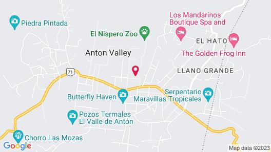 Los Mandarinos Boutique Spa and Hotel Map