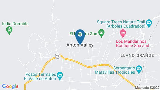 Hostel Lopez El Valle Map
